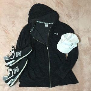 PINK lightweight jersey jacket